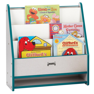 Rainbow Accents® Toddler Pick-a-Book Stand - Teal 0071JCWW005