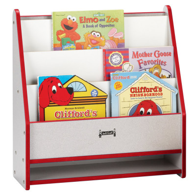 Rainbow Accents® Toddler Pick-a-Book Stand - Red 0071JCWW008
