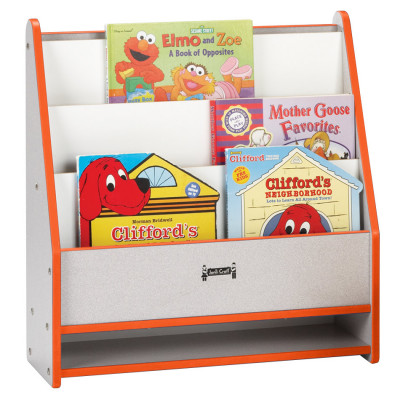 Rainbow Accents® Toddler Pick-a-Book Stand - orange 0071JCWW114