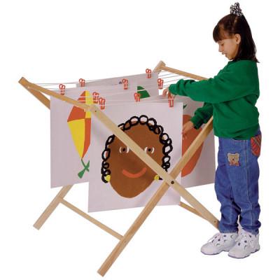 Jonti-Craft Children's Wood Paint Drying Rack